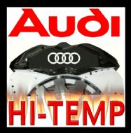 AUDI HIGH TEMPERATURE BRAKE CALIPER DECAL SET